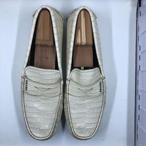 Authentic Men Prada Crocodile Loafers. One of kind